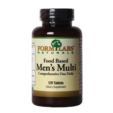 Form Labs Naturals Food Based Men's Multi