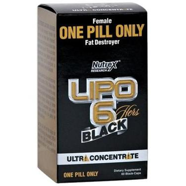 Nutrex Research Lipo-6 Black Hers Ultra Concentrate